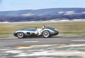 Aston Martin DBR1 Trintignant Goodwood 1959 TT